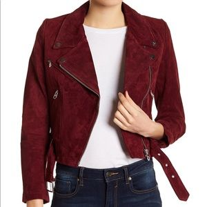 Vigoss Real Suede Moto Jacket